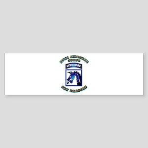 XVIII Airborne Corps - SSI Sticker (Bumper)