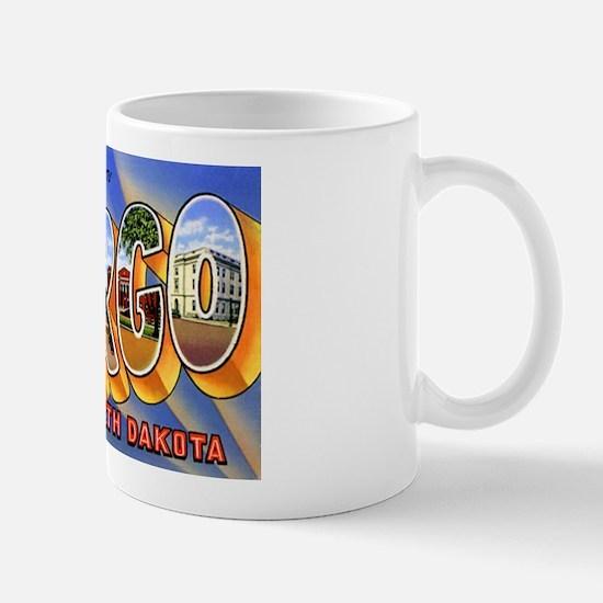 Fargo North Dakota Greetings Mug