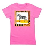 zebra.png Girl's Tee