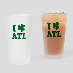 ATL Clover Drinking Glass