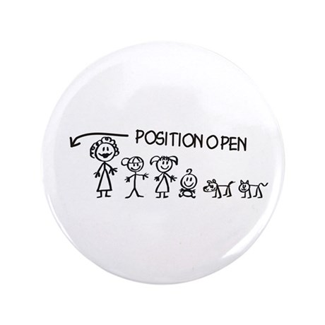 "Stick Figure Family Man Position Open 3.5"" Bu"
