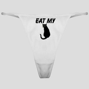 Eat My Pussy Classic Thong Black