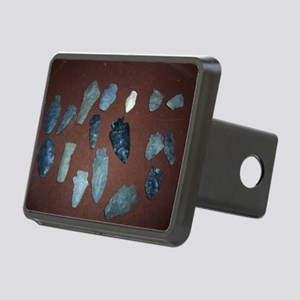 Collection of Indian Arrowheads Hitch Cover