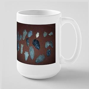 Collection of Indian Arrowheads Mug