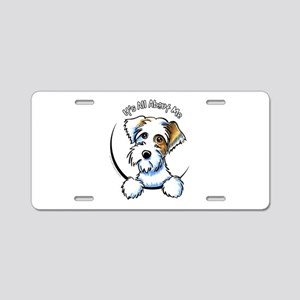 Sealyham Badg IAAM Off-Leash Art™ Aluminum License