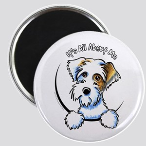 "Sealyham Badg IAAM Off-Leash Art™ 2.25"" Magnet (10"