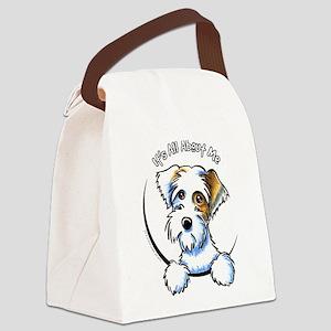 Sealyham Badg IAAM Off-Leash Art™ Canvas Lunch Bag
