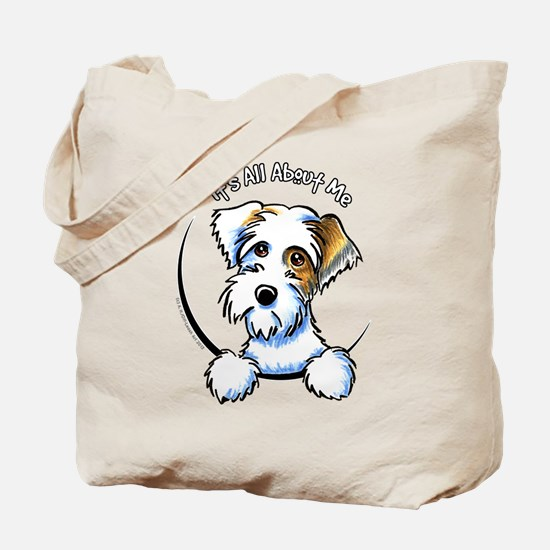 Sealyham Badg IAAM Off-Leash Art™ Tote Bag