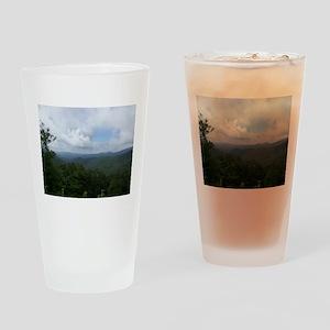 Blue Ridge Parkway - Asheville, NC Drinking Glass