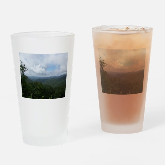 Blue Ridge Parkway - Asheville, NC Drinking Glass