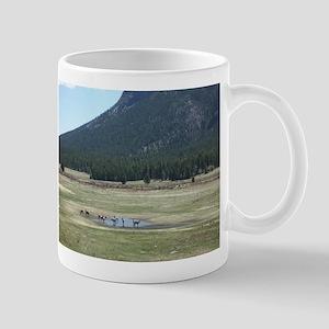 Elk in the Wild in Estes Park, Colorado Mug