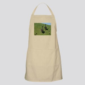 Geese Family with babies Apron