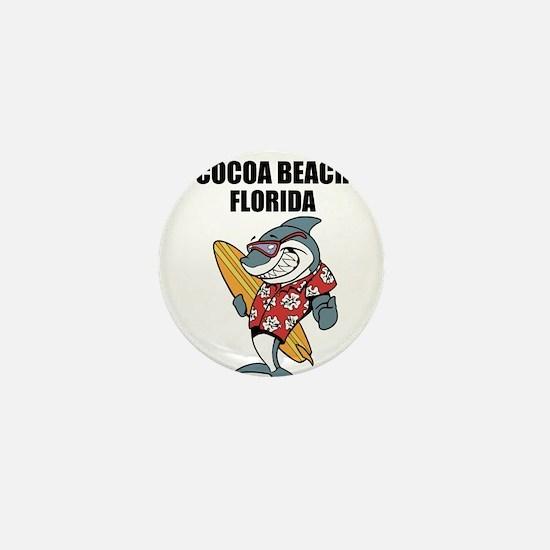 Cocoa Beach, Florida Mini Button
