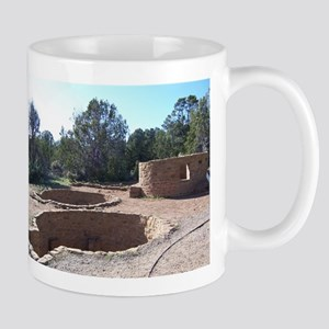 Giant Kivas at Anasazi Indian Ruins Mug