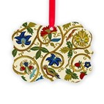 Elizabethan Swirl Embroidery Picture Ornament