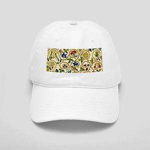 Elizabethan Swirl Embroidery Cap