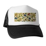 Elizabethan Swirl Embroidery Trucker Hat