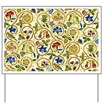 Elizabethan Swirl Embroidery Yard Sign
