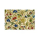Elizabethan Swirl Embroidery Rectangle Magnet