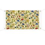 Elizabethan Swirl Embroidery Banner