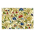 Elizabethan Swirl Embroid Postcards (Package of 8)