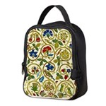Elizabethan Swirl Embroidery Neoprene Lunch Bag