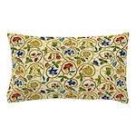 Elizabethan Swirl Embroidery Pillow Case