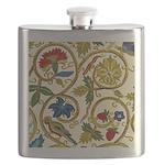 Elizabethan Swirl Embroidery Flask
