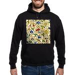 Elizabethan Swirl Embroidery Hoodie (dark)