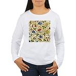 Elizabethan Swirl Embr Women's Long Sleeve T-Shirt