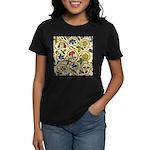 Elizabethan Swirl Embroidery Women's Dark T-Shirt