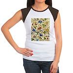 Elizabethan Swirl Embro Women's Cap Sleeve T-Shirt