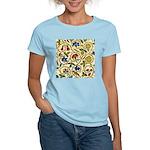 Elizabethan Swirl Embroidery Women's Light T-Shirt
