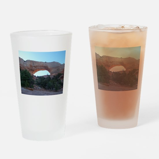 Wilson Arch - Moab Utah Drinking Glass
