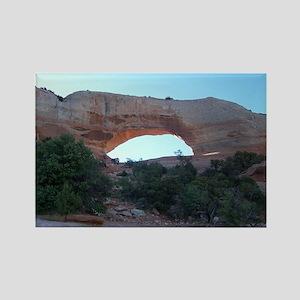 Wilson Arch - Moab Utah Rectangle Magnet