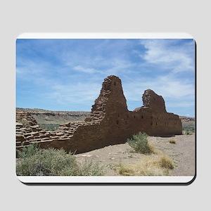 Chaco Canyon Indian Ruin Site Mousepad