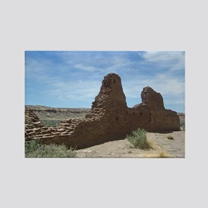 Chaco Canyon Indian Ruin Site Rectangle Magnet