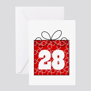 28th birthday greeting cards cafepress 28th birthday mod gift greeting card bookmarktalkfo Gallery