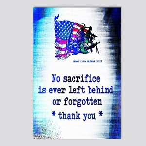 Military Sacrifice Postcards (Package of 8)