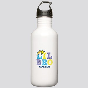 Add Name Lil Bro Stainless Water Bottle 1.0L