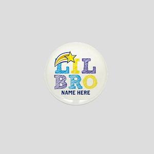 Add Name Lil Bro Mini Button