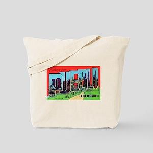 Pueblo Colorado Greetings Tote Bag