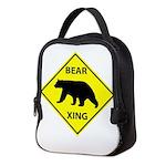 Bear Crossing Neoprene Lunch Bag
