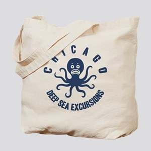 Deep Sea Chicago Tote Bag