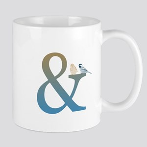 And Ampersand with Birds Mug