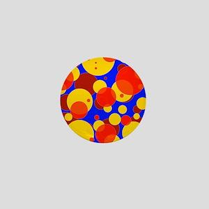 Citrus Party Bubbles Mini Button
