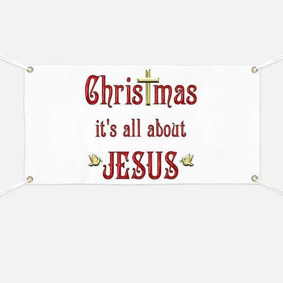 Christmas Doves Banner