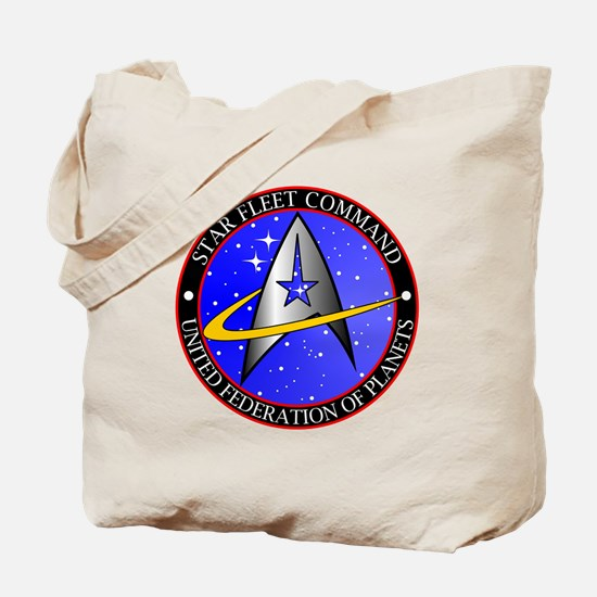 Star Fleet Command Tote Bag
