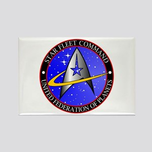 Star Fleet Command Rectangle Magnet