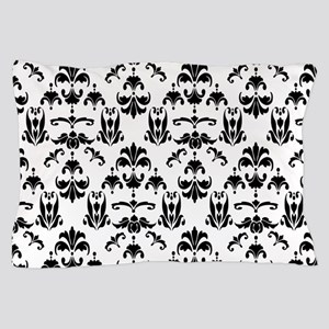 Black & White Damask #20 Pillow Case